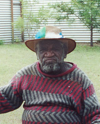 Dr George Japaltjarri Photo