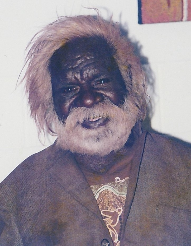 Billy Stockman Japaltjarri Photo