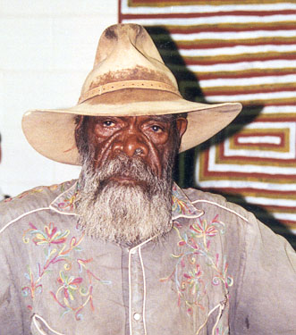 Mick Namarari Japaltjarri Photo